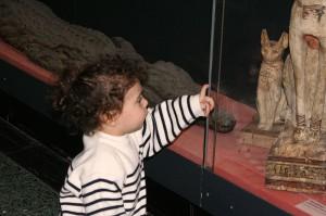 Clemence le Louvre Egypte