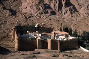 Le Sinaï, le monastère Sainte-Catherine.