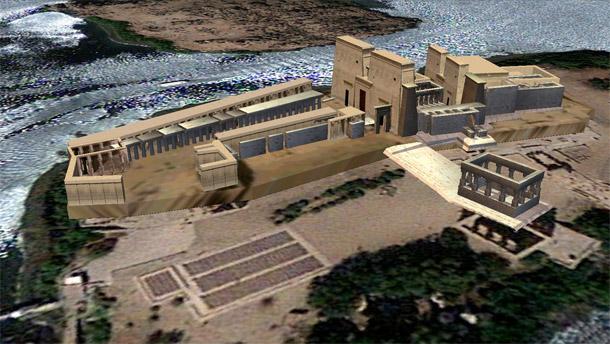 Temple de Philae 3D