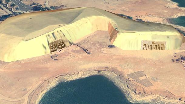 Temple Ramses II 3D Abou Simbel