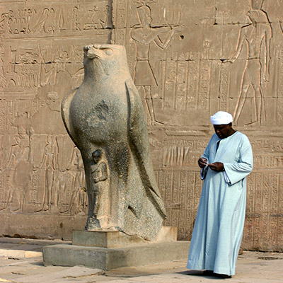 Temple d'Horus, Edfou